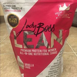 New never opened Lady Boss LEAN